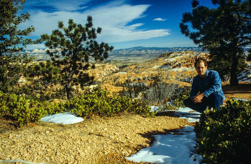 Near Bryce Canyon National Park, Utah - November 1988
