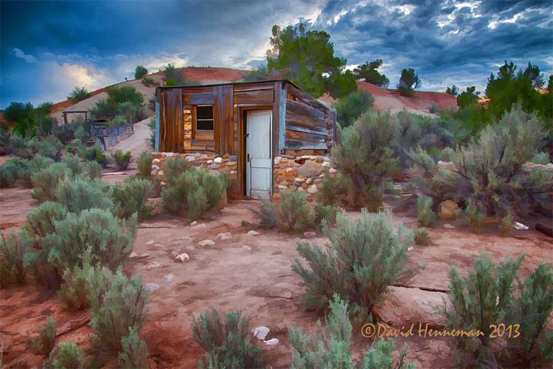Abandoned Old West Cowboy Camp