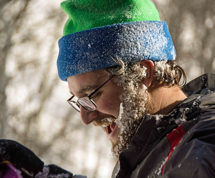 Jeff with Frozen Beard
