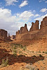 Park Avenue, Arches National Park, Utah<br /> October 2009