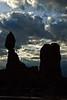 Balanced Rock, Arches National Park, Utah<br /> October 2009