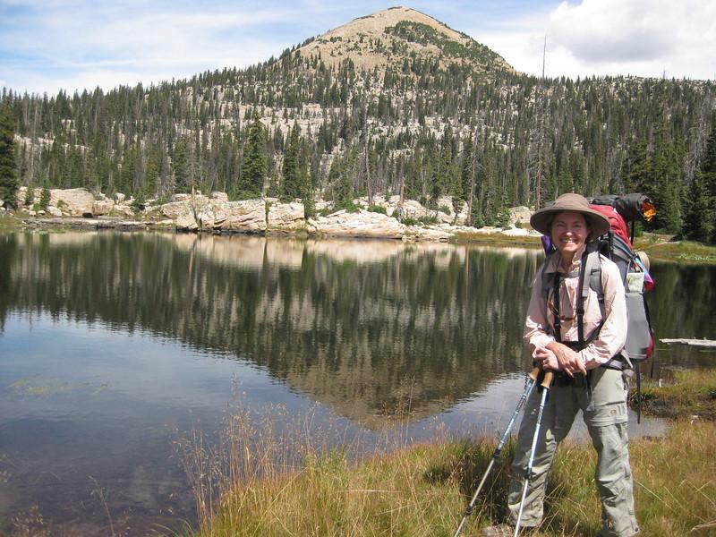 Island Lake on the way to Big Elk