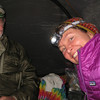In the tent in the rain. Cliff Lake.