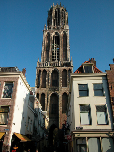 Dom tower in Utrecht. It was built during 1254 - 1517. It literally took 'ages'..<br /> Height is 112 meters. I climbed it in 2005. The view from the topis great. Pity that I didn't have a camera with me at that time...