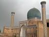 Samarcanda, mezquita donde está enterrados los antepasados emperadores de la región