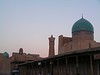 Ciudad de Boukhara al atardecer