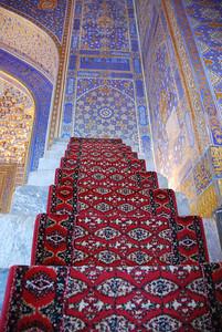 Minbar inside Tillya Kari