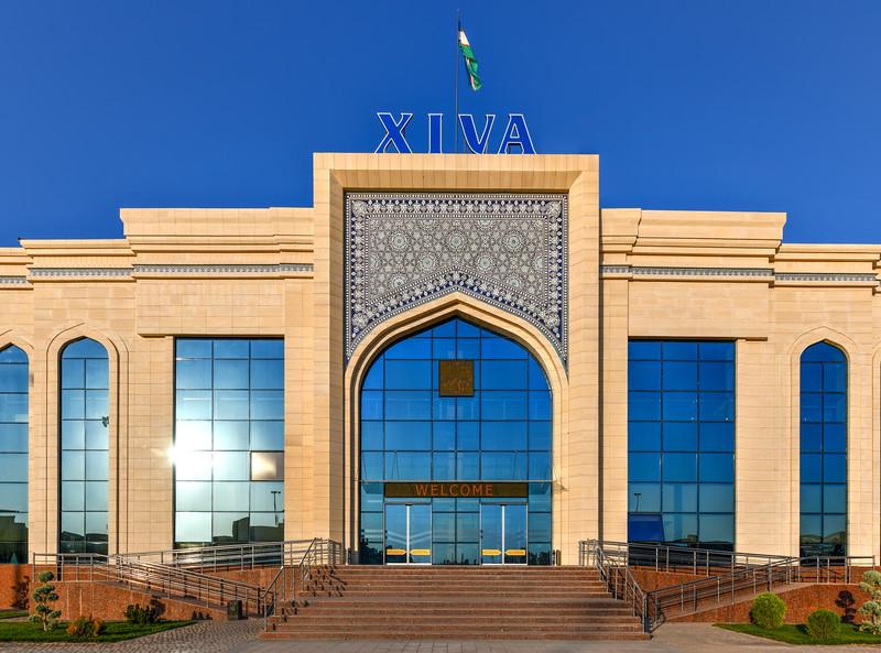 Khiva Uzbekistan Train Station