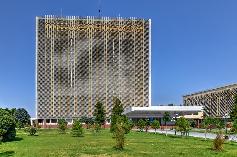 Soviet Architecture - Samarkand, Uzbekistan