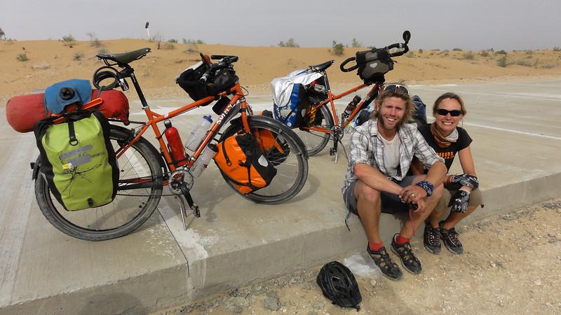 Longest Cycling Honeymoon