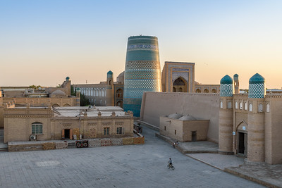 Sunset in the Square || Khiva