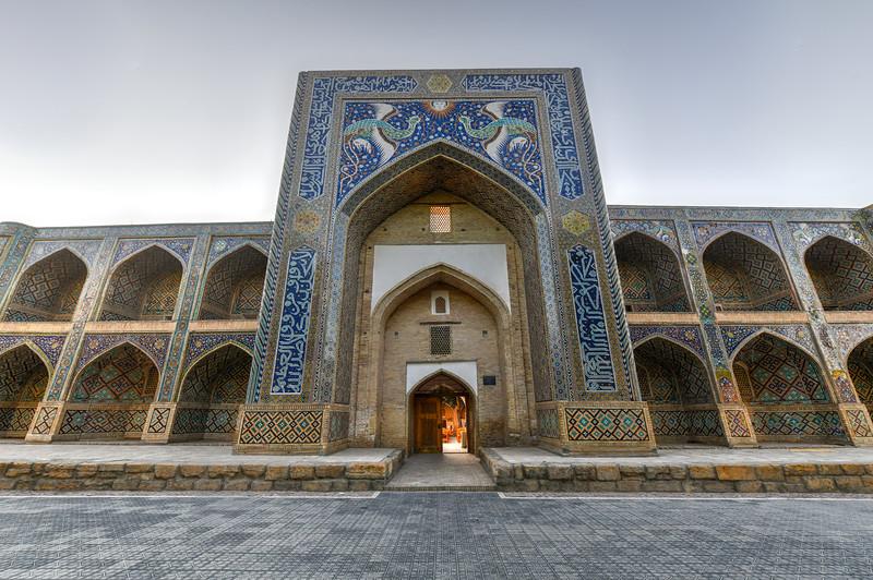 Nadir Divan-Begi Madrasah Mosque - Bukhara, Uzbekistan