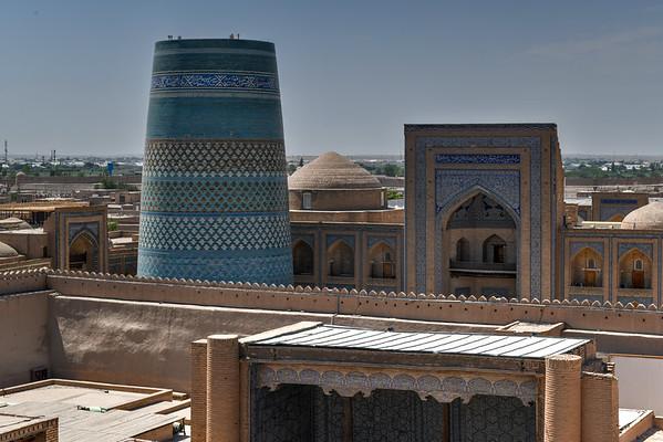 Kunya-Ark Citadel - Khiva, Uzbekistan