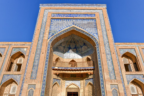 Mohammed Rakhim Khan Madrassah - Khiva, Uzbekistan