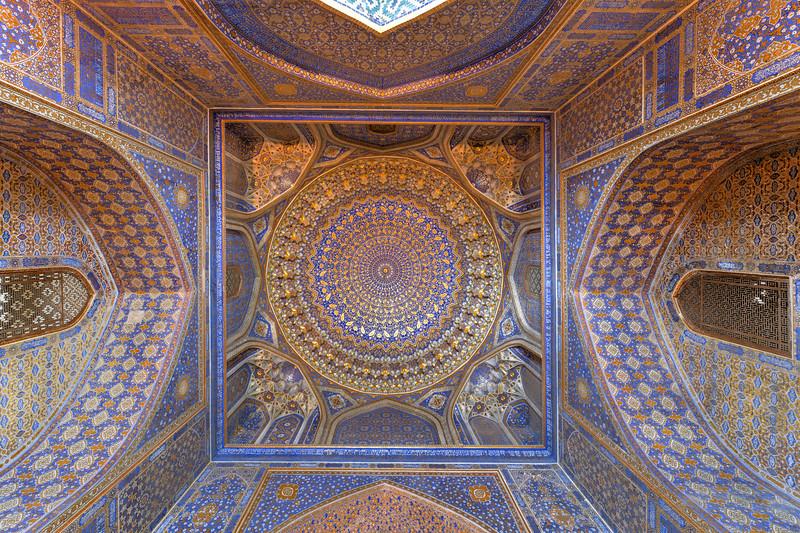 Tilya-Kori Madrasah - Samarkand, Uzbekistan