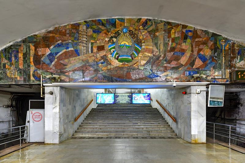 Ozbekiston Metro - Tashkent, Uzbekistan