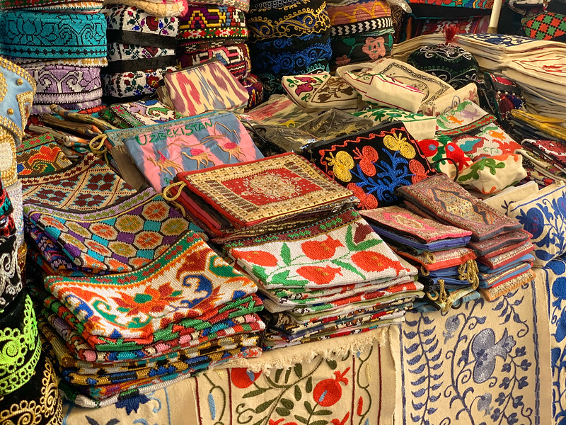 Traditional Uzbek Goods