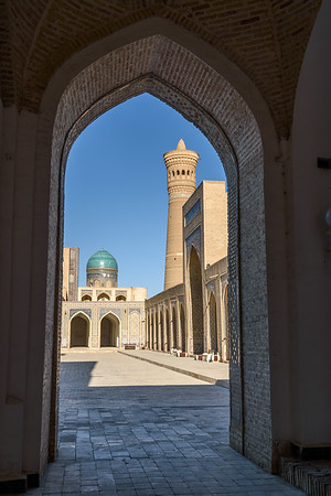 Framed View || Bukhara