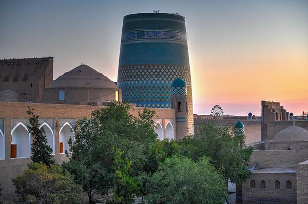 Kalta Minor Minaret - Khiva, Uzbekistan