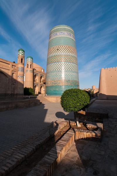 Kalta Minor Minaret. Khiva, Uzbekistan