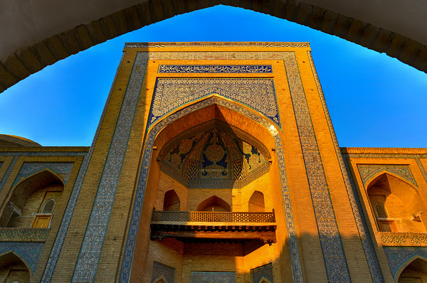 Mohammed Amin Madrassah - Khiva, Uzbekistan
