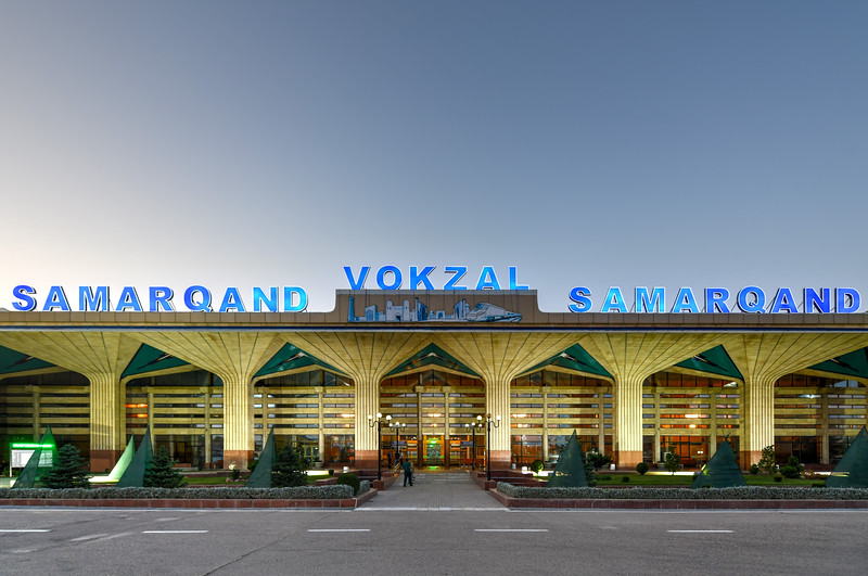 Samarkand Railroad Station