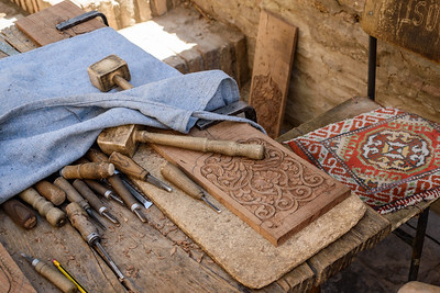 Woodworking Tools || Khiva