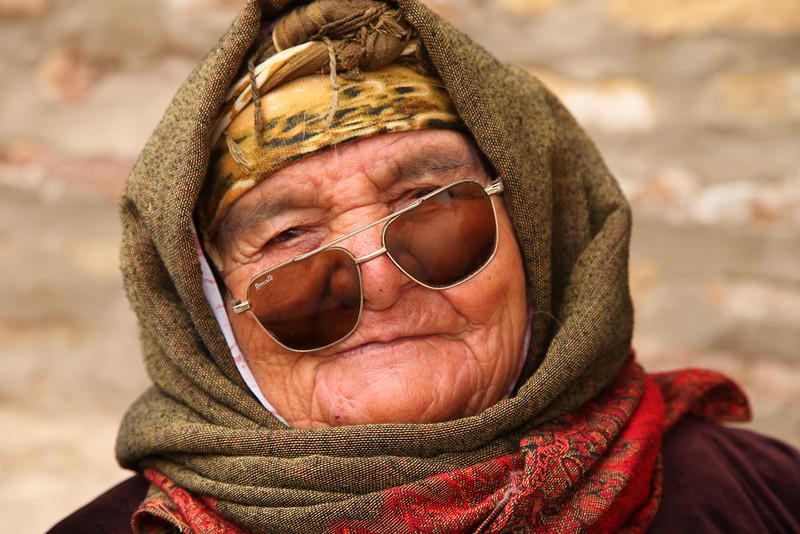 Woman in market, Khiva, Uzbekistan
