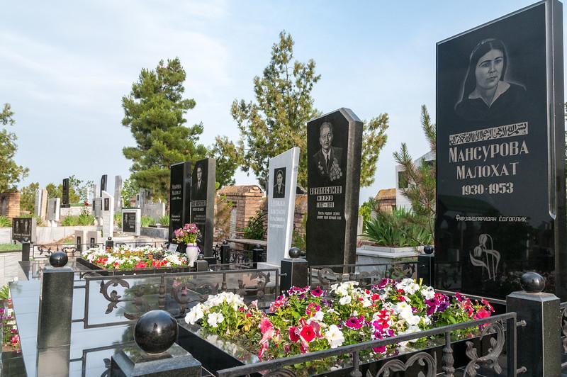 Cemetery. Samarkand, Uzbekistan