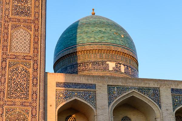Mir-i-Arab Madrassa Detail || Bukhara