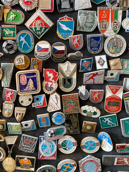 Soviet Pins