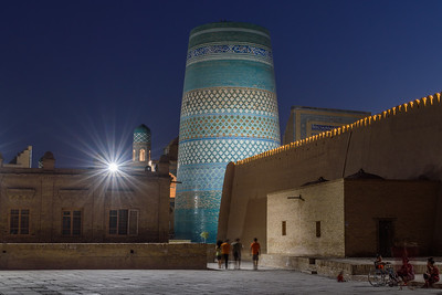 Dusk by the Kalta Minor || Khiva