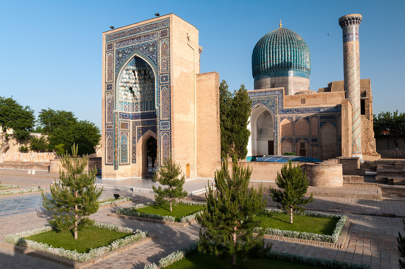 Guri Amir Mausoleum. Samarkand, Uzbekistan