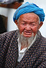 Man in Samarkand market, Uzbekistan
