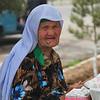 Woman in Shakhrisabz market, Uzbekistan