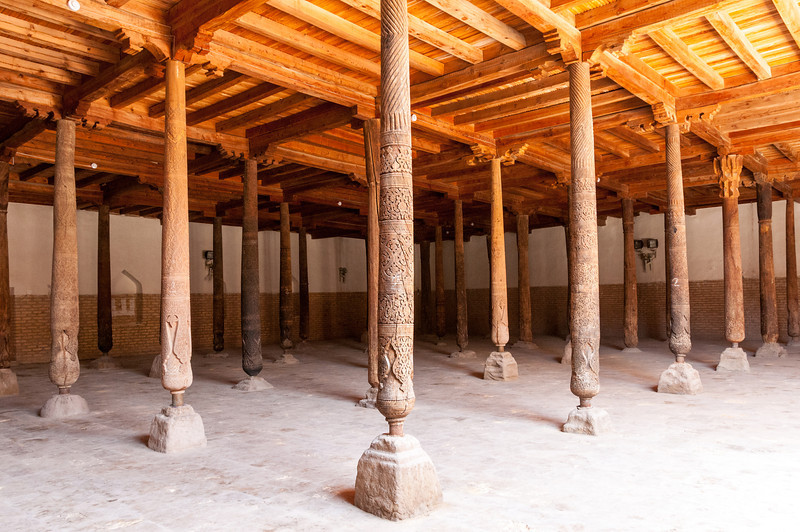 Juma Mosque. Khiva, Uzbekistan