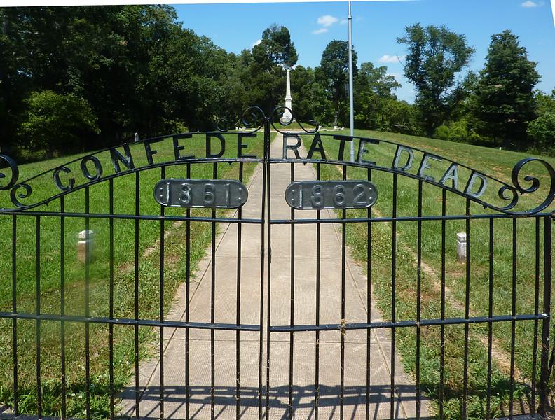 Manassas Battlefield Confederate Cemetery.