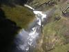 Salt Creek Falls, at the bottom, rainbow is slightly visible, Oregon