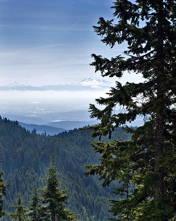 MOUNT BAKER AS VIEWED FROM GROUSE MOUNTAIN