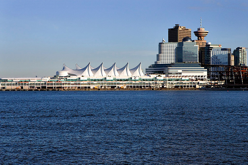 DOWNTOWN VANCOUVER AND CANADA PLACE