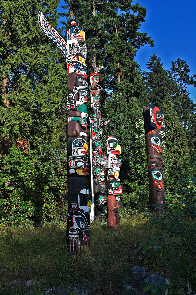TOTEMS AT STANLEY PARK