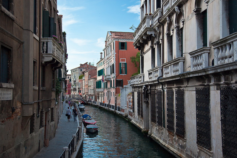 MORNING ARRIVAL IN VENICE-WALK TO ST. MARK'S SQUARE