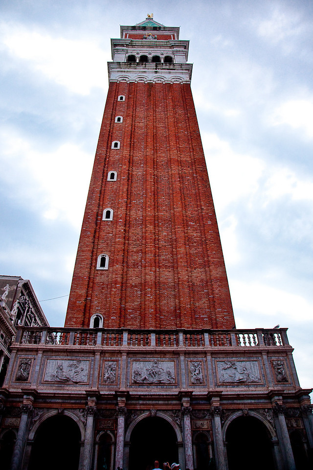 CLOCK TOWER AT ST. MARK'S SQUARE