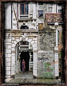 GothicCourtyard,Venice