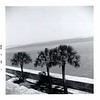 View of Mantanzas Bay from Castillo De San Marcos.<br /> St. Augustine, FL.