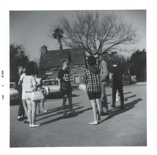 Mary Ellen Casey, Susie Johns, Donald Walker, Diane Taylor, Joe Taylor, Mr. & Mrs. Coach.<br /> Staging area.<br /> Oldest school house in North America.<br /> St. Augustine, FL.