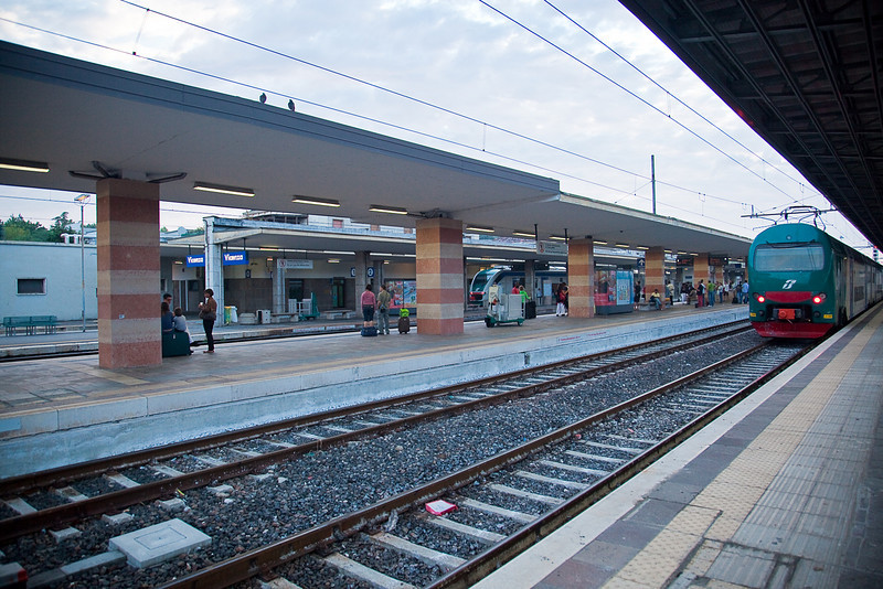 TRAIN STATION IN VICENZA