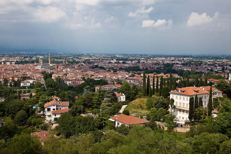 VIEW OF VICENZA FROM MONTE BERICO