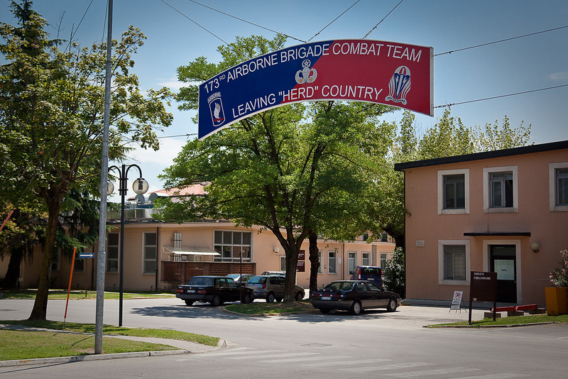 CASERMA EDERLE ARMY POST-VICENZA, ITLAY