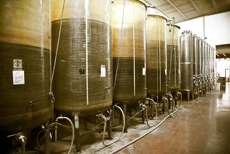 WINE STORAGE VATS